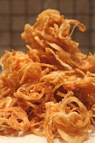 Home Fried Onion Rings