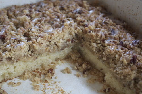 Mmmm....look at that thick crumb top!